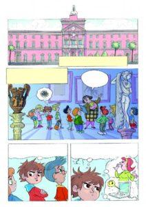 Un museo a fumetti