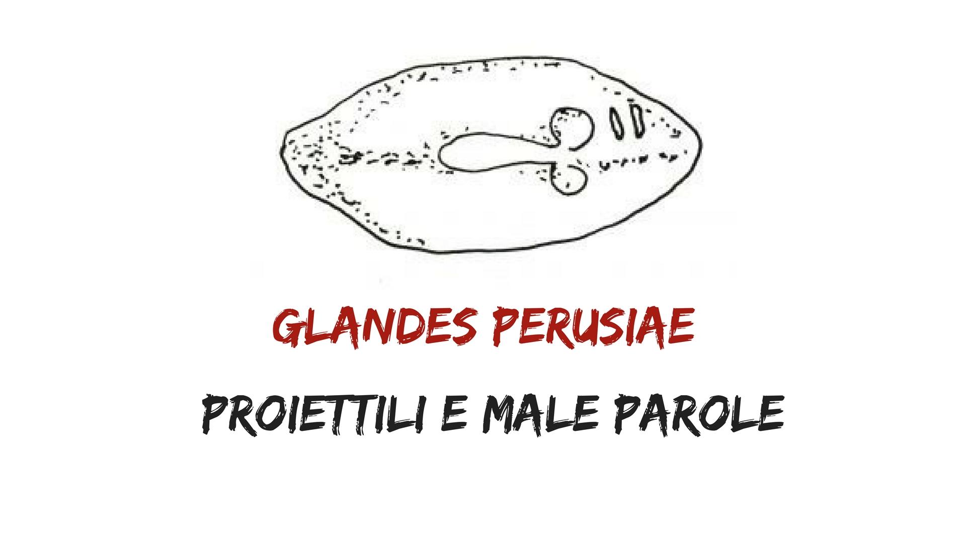 Glandes Perusiae - proiettili e parolacce!