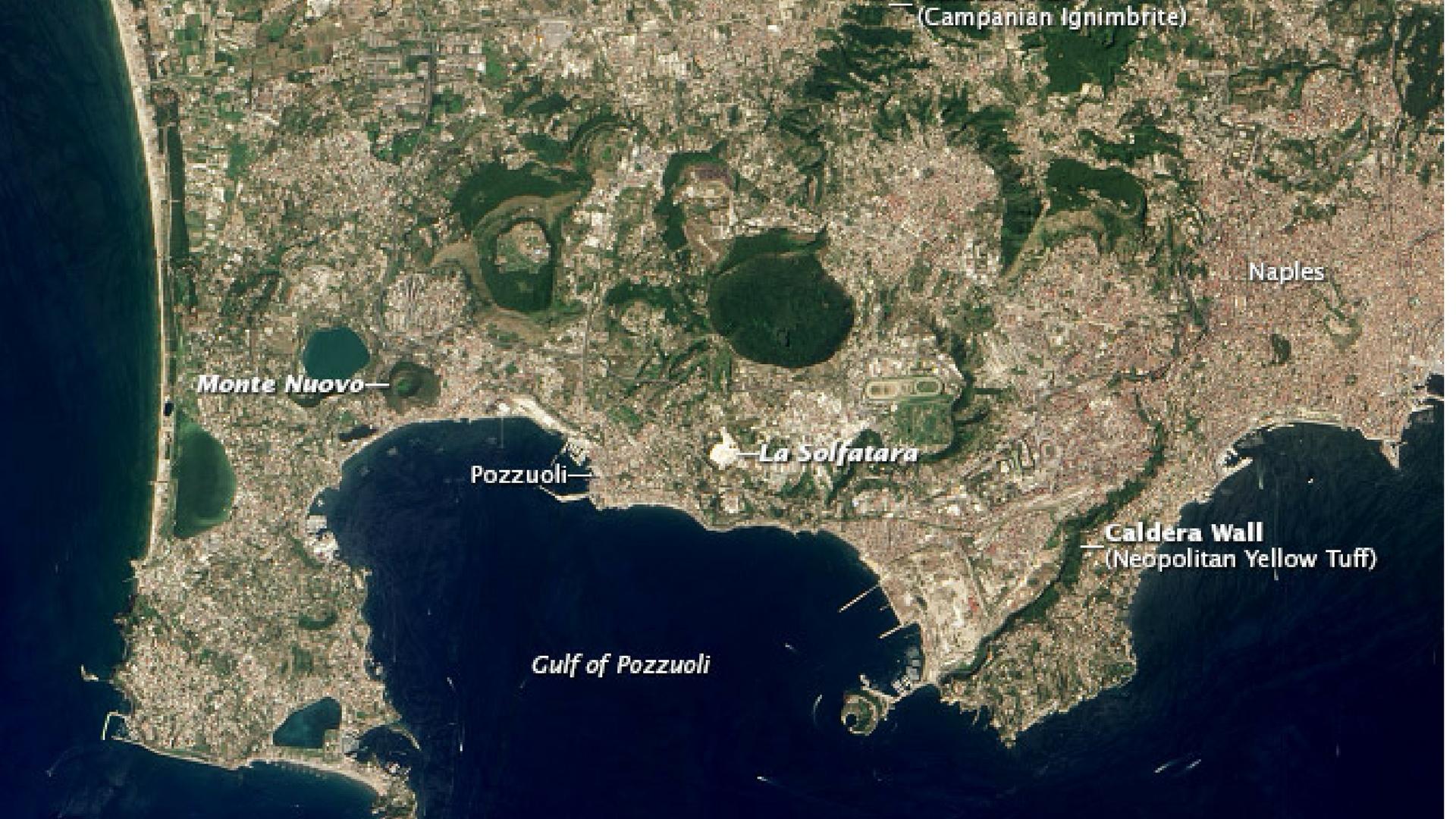 La gigantomachia al Lago d'Averno