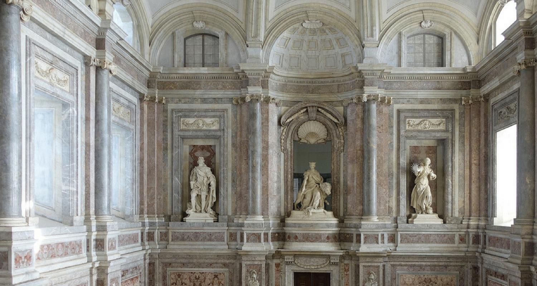 Reggia di Caserta - Lo scalone principale