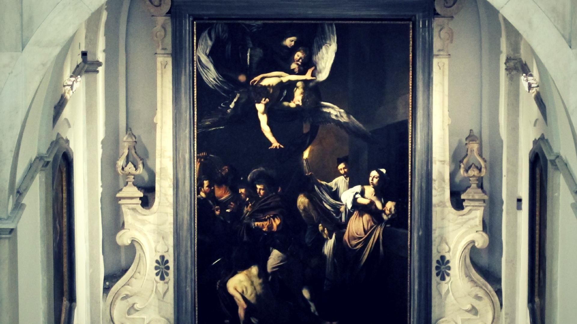 Caravaggio a Napoli - le sette opere della misericordia