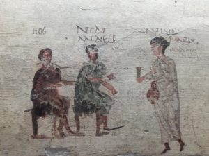 Scavi di Pompei e fumetti