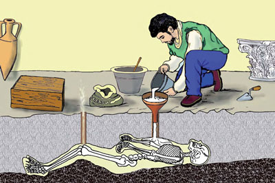 Metodo per i calchi di pompei