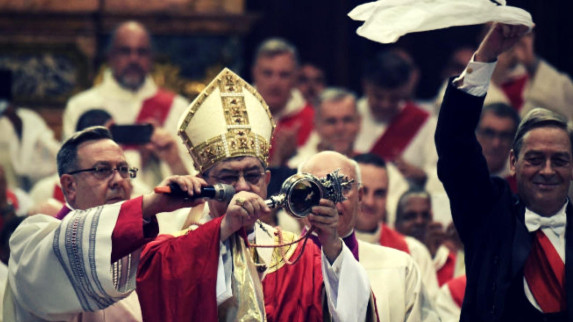 Il miracolo di San Gennaro. La storia