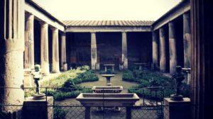 The houses of Pompeii