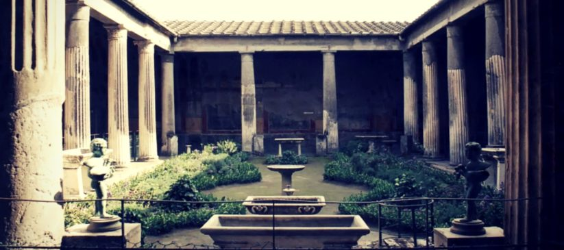 The houses of Pompeii