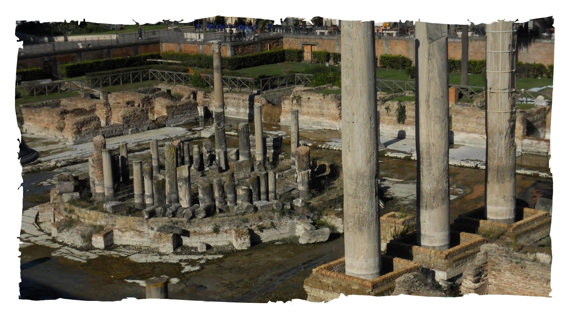 Pozzuoli. Il porto di Roma