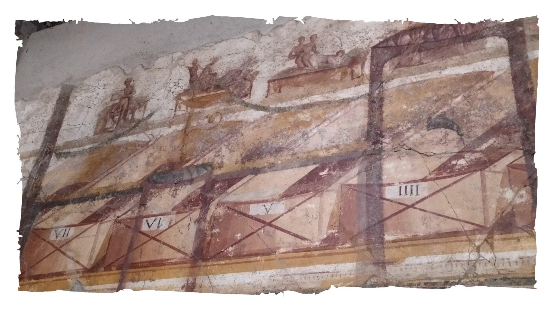 Le terme suburbane di Pompei e gli affreschi erotici