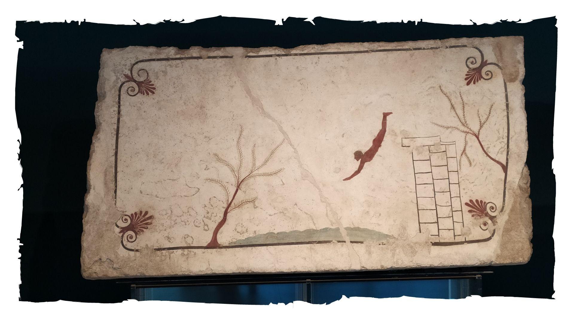 La tomba del tuffatore di Paestum