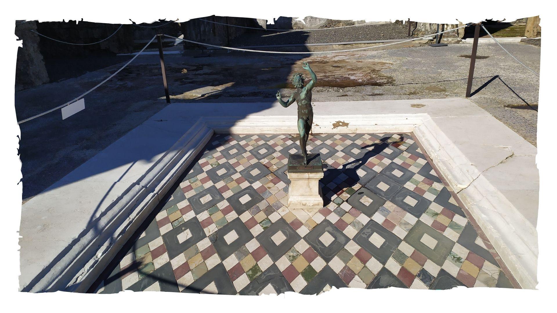 La casa del Fauno di Pompei